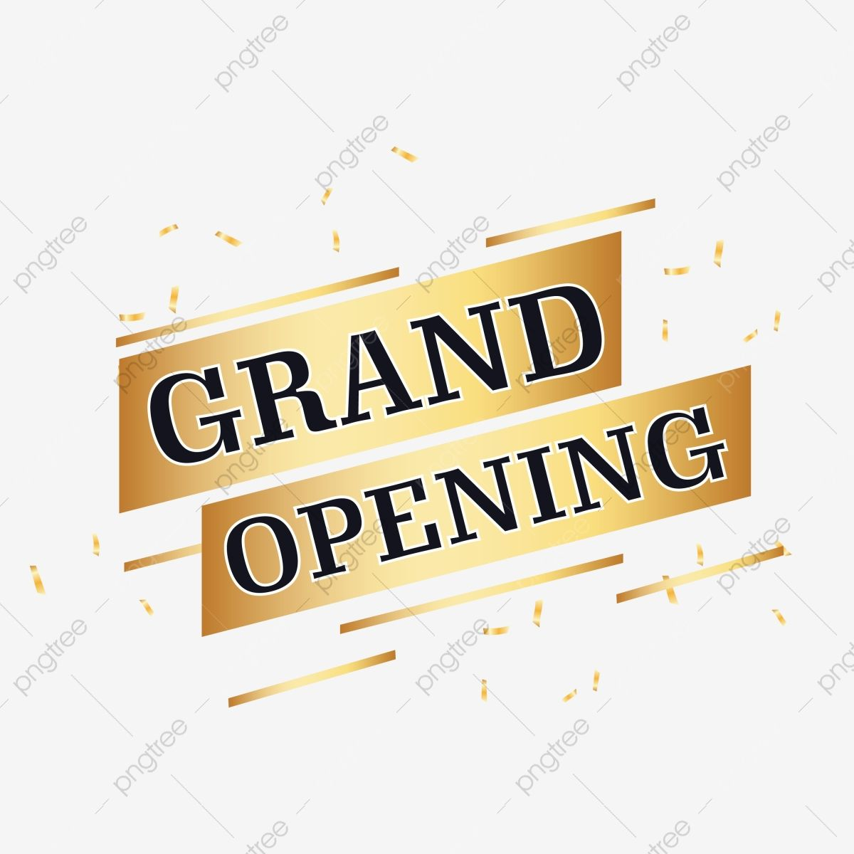 Golden And Black Grand Opening Vector Shop Open Grand Open Png And Vector With Transparent Background For Free Download Grand Opening Business Poster Vector