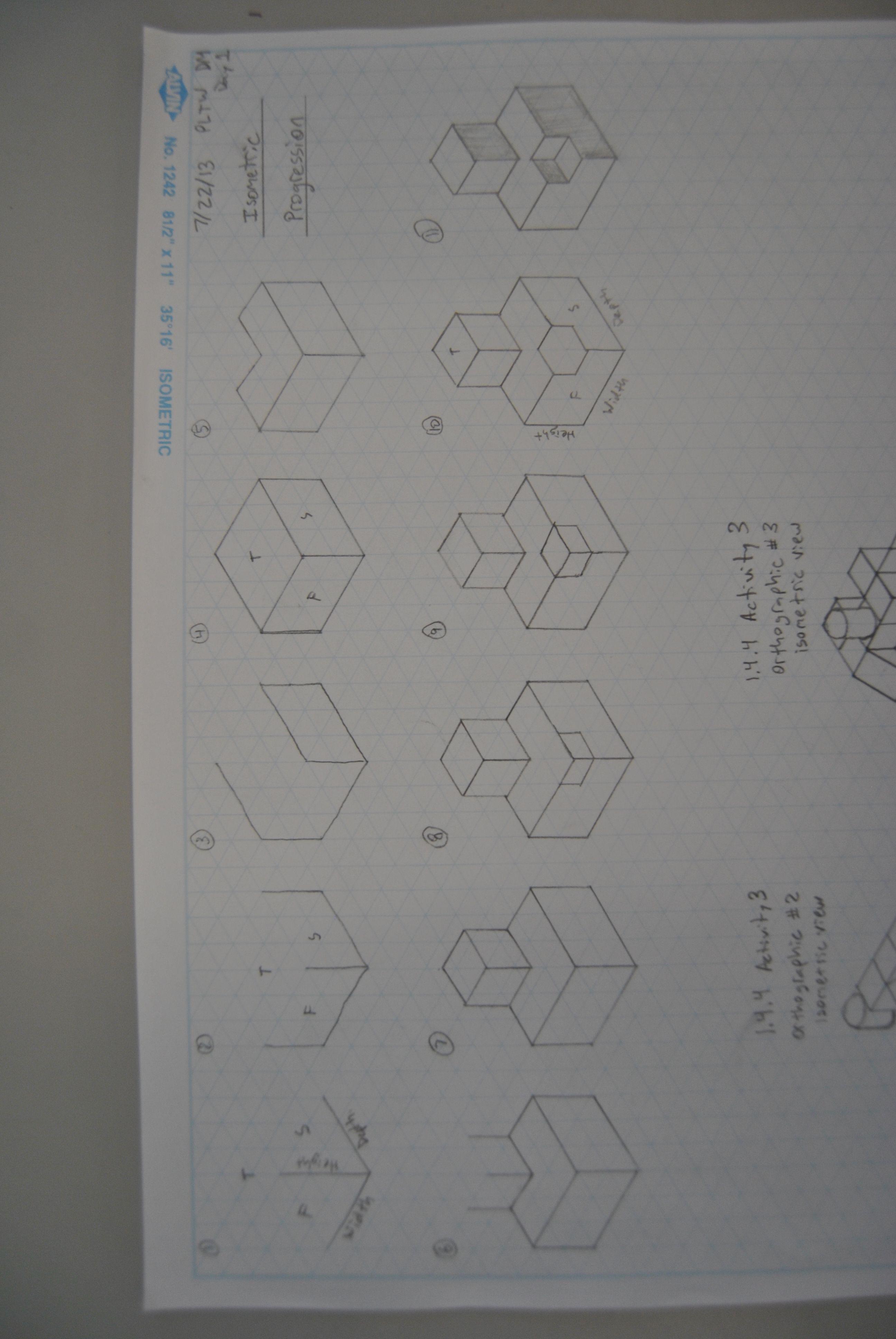 Design Amp Modeling Isometric Cube Progressions