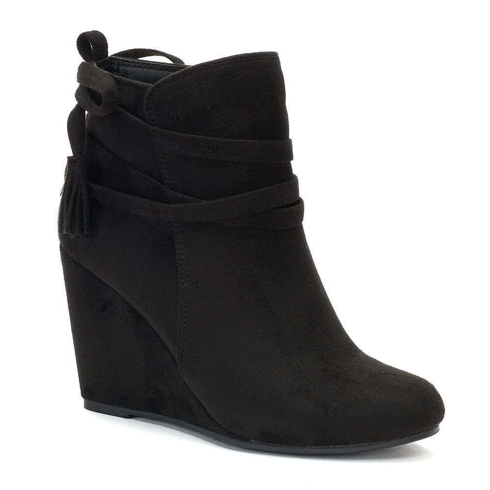 36138a24f5f madden NYC Vickie Women's Wedge Ankle Boots   Products   Wedge ankle ...