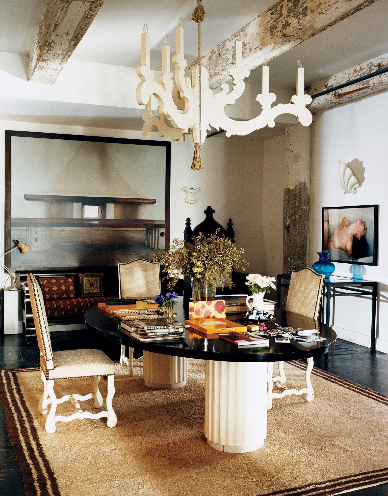 A Look at 30 Dining Rooms in _Vogue_