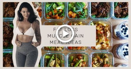 MEAL PREP WITH ME - Easy & Fast - High Protein Meals for Fat Loss #fitness