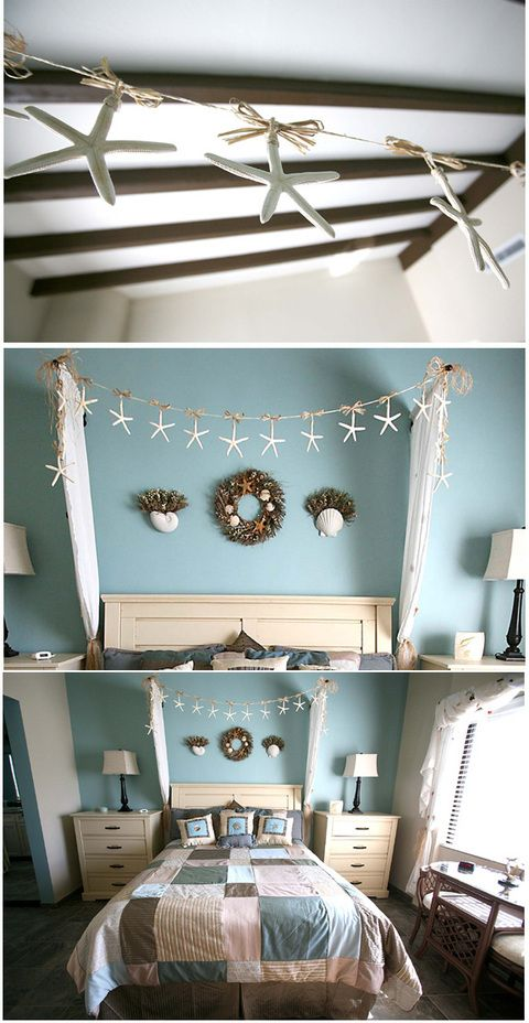 marvelous beach themed bedrooms | love the color scheme, not so crazy about the beach theme ...