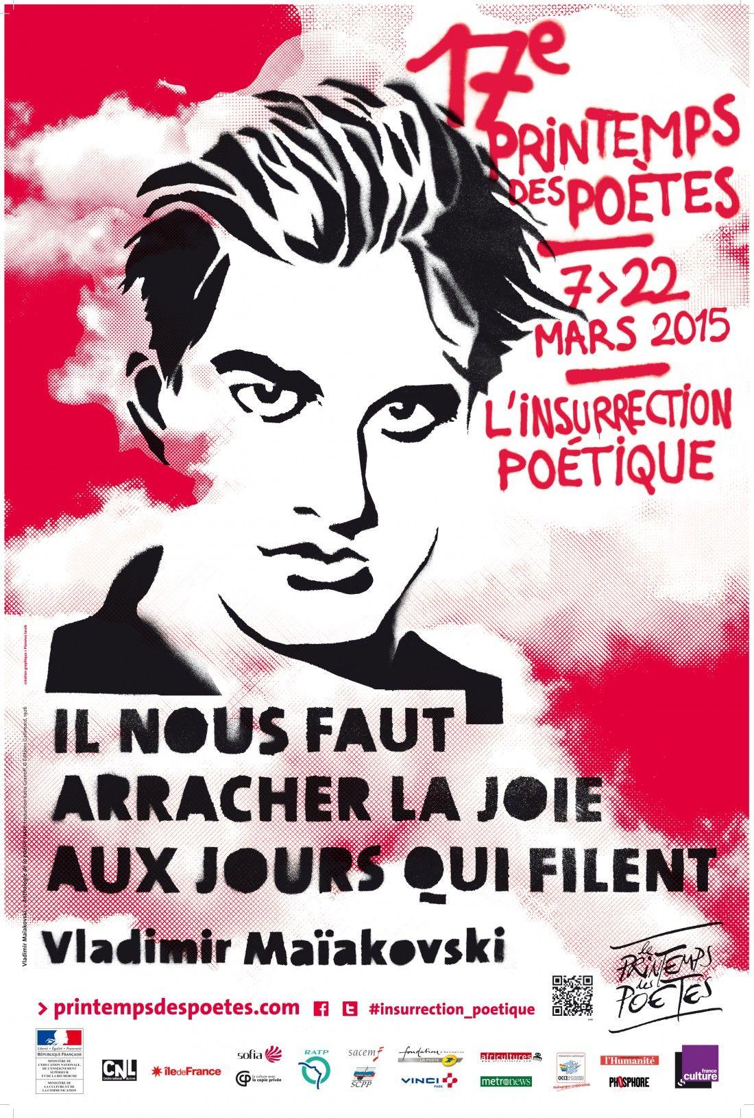 C Est Le Printemps Les Poetes Font De La Resistance Le Printemps Des Poetes Poetes Litterature