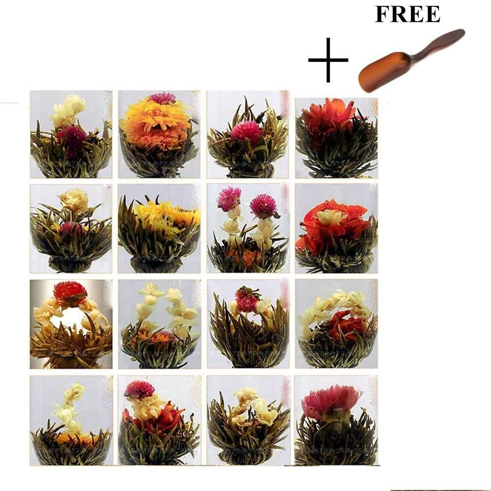 blooming flower tea balls