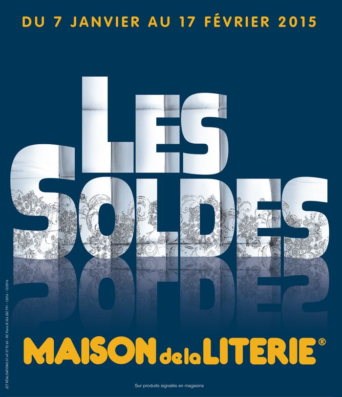 catalogue maison de la literie soldes du mercredi 7 janvier 2015 au mardi 17 f vrier 2015 07. Black Bedroom Furniture Sets. Home Design Ideas