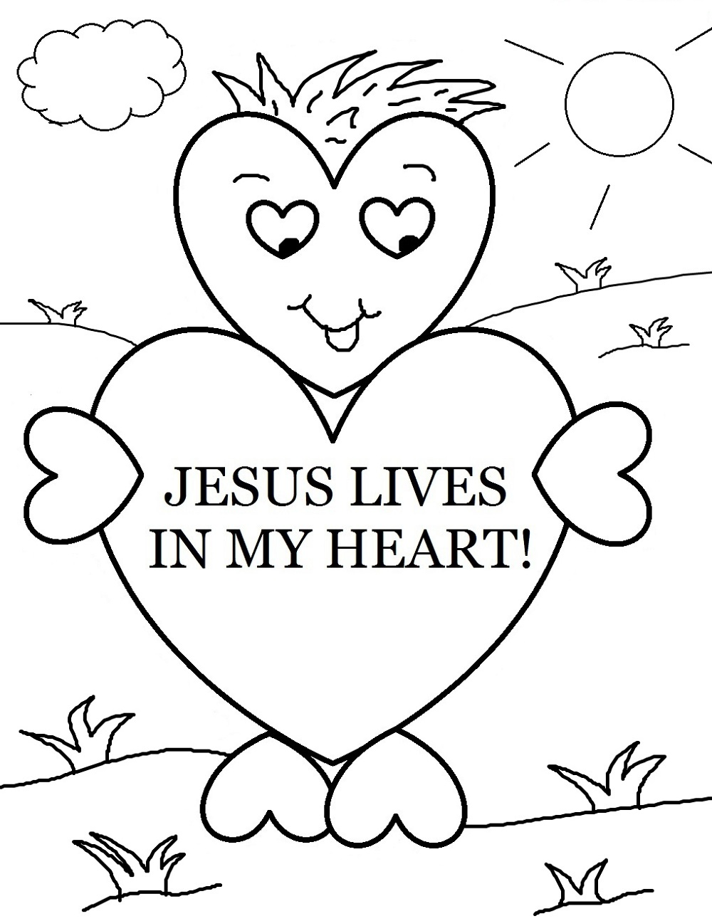 Christian Coloring Pages For Sunday Lesson Sunday School Coloring Pages Sunday School Valentines Valentines School
