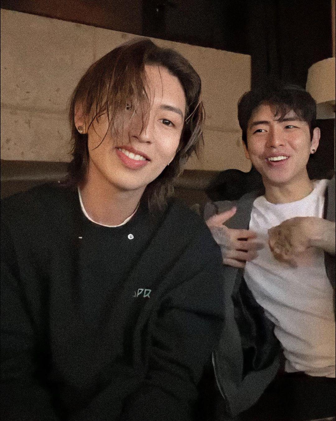 Sage On Instagram The Best Boys Dprarchive Via Twt Dpr Dprlive Dreamperfectregime Hongdabin Dabin Kpop Rappers Christian Yu Dpr Live