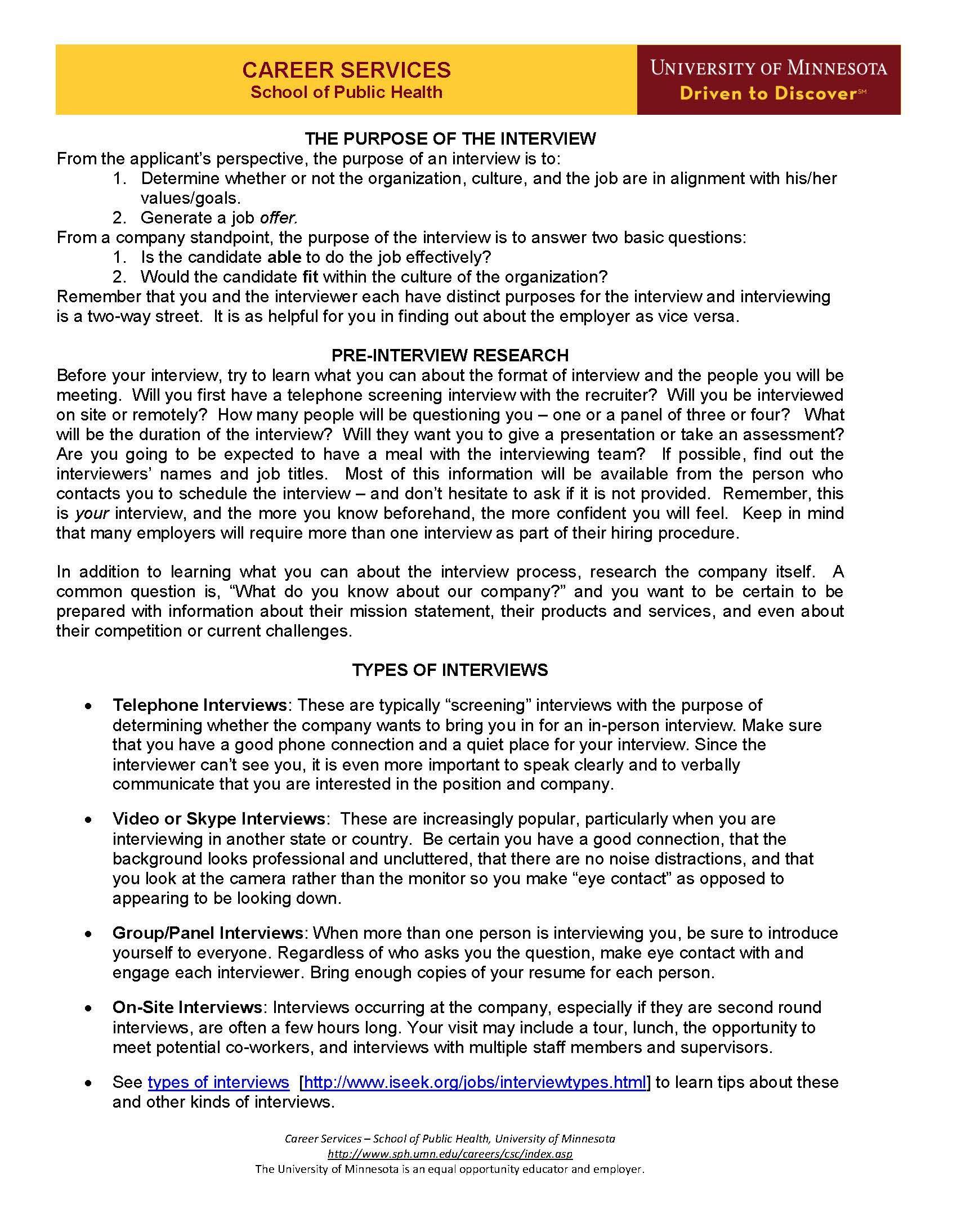 Interviewing Guide Interviewing 101 Page 1 Interview Tips Job Seeking Strengths Finder