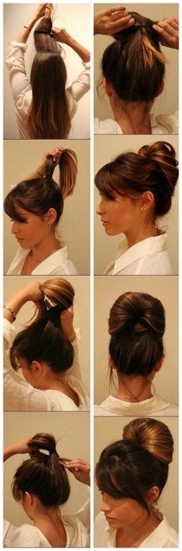 9 besten formalen Frisuren für langes Haar von Frauen im ...
