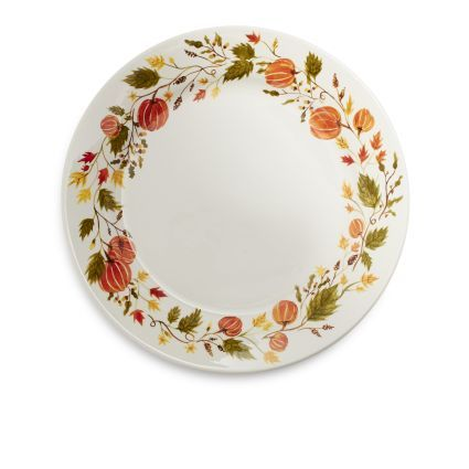 Add a touch of fall cheer to any occasion with our rustic Pumpkin dinnerware. Great for autumn entertaining or Thanksgiving dinner this stylish earthenware ...  sc 1 st  Pinterest & Pumpkin Dinner Plate | Sur La Table | Imaginary Wedding registry ...