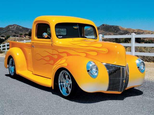1940 Ford Pickup Brought To You By House Of Insurance Eugene