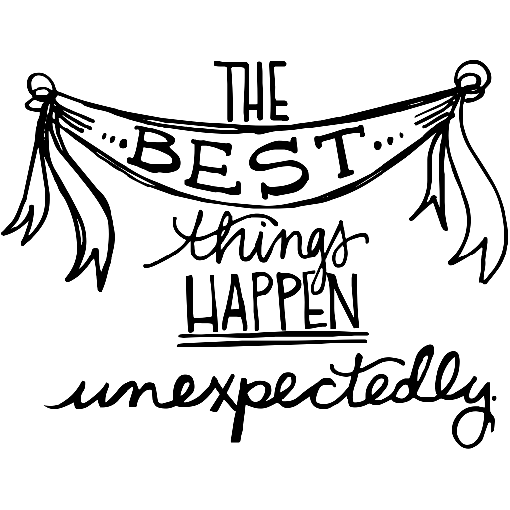 When Things Happen Unexpectedly Quotes: The Best Things Happen Unexpectedly. #quote **Surprise