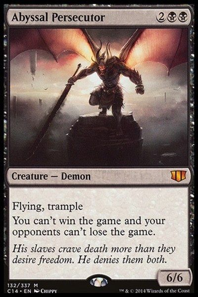 Black Demon Deck - Custom MTG Magic the Gathering