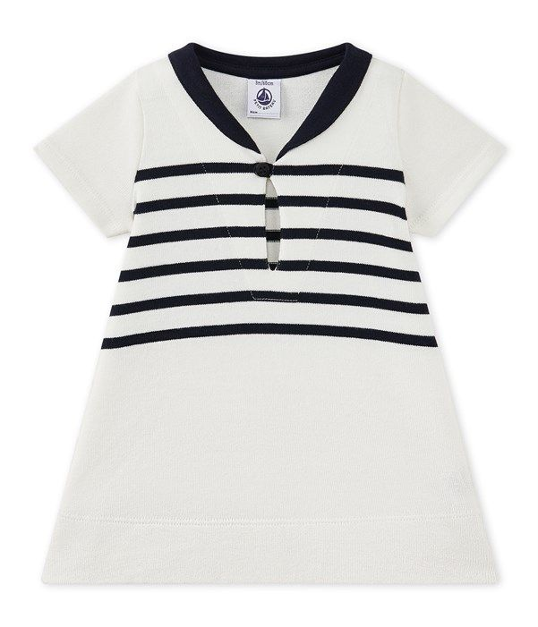 7dff5461ac0a Robe bébé fille en jersey lourd   Mode   Stylish