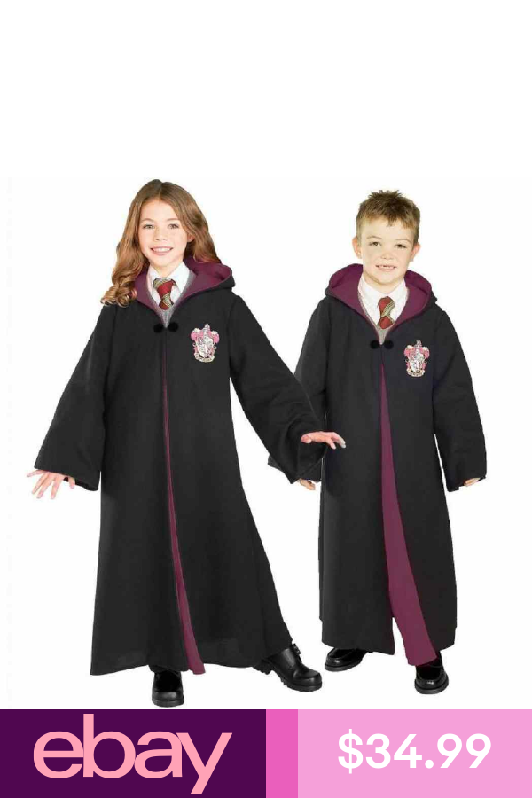 Gryffindor Robe Harry Potter Hermione Fancy Dress Halloween Deluxe Child Costume Hermione Fancy Dress Harry Potter Costume Harry Potter Gryffindor Robe