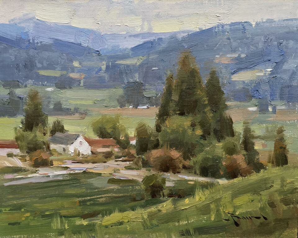 Mitch Baird (great reference image for Plein air)