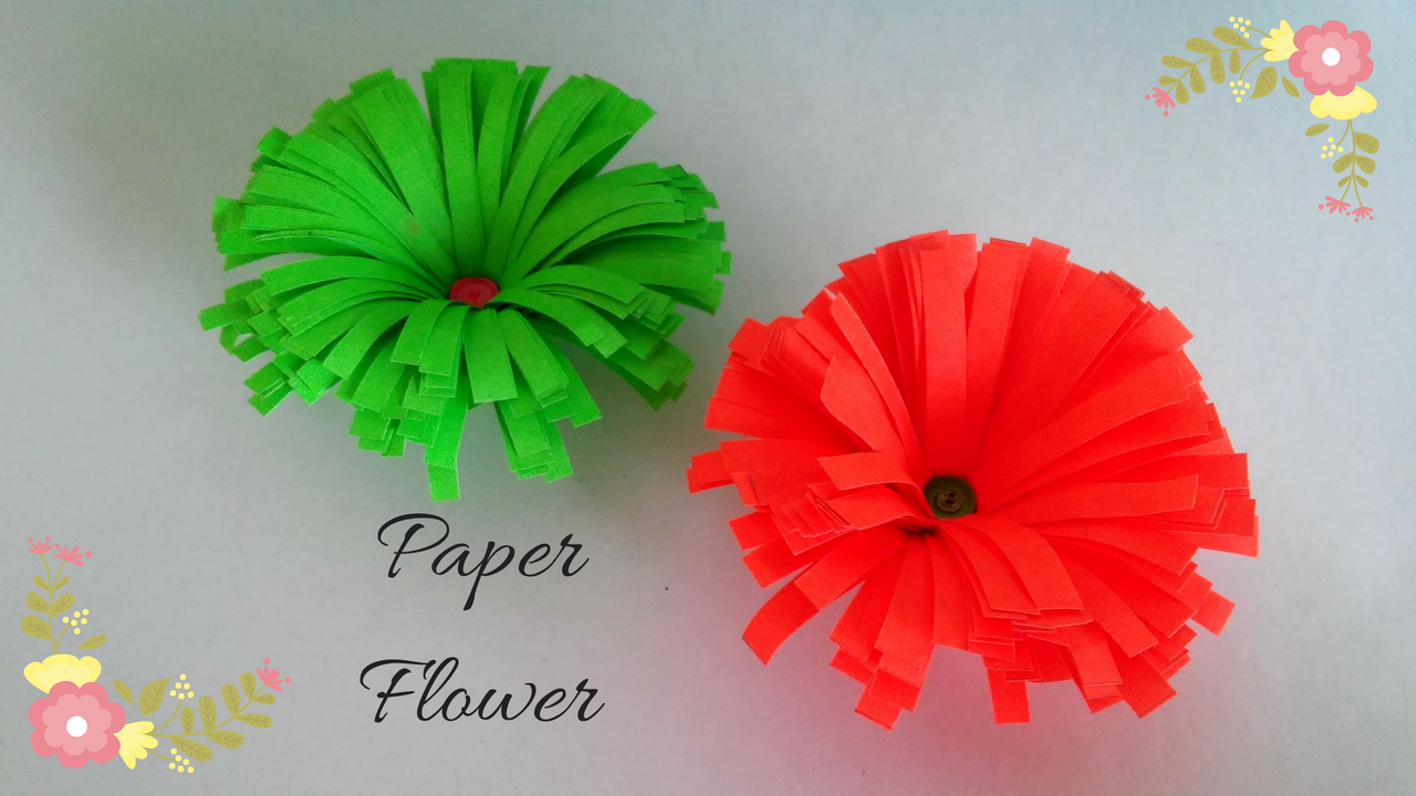 How To Make Easy Paper Flowers Handmade Paper Flowers Diy Do It