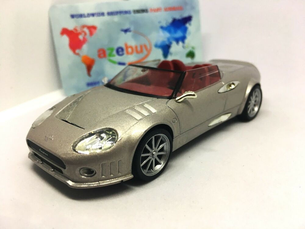 Spyker C8 Spyder Silver 2000 Year Rare Dutch Sports Car 1 43 Scale Diecast Model Supercars Spykercars In 2020 Super Cars Chevrolet Monza Diecast Model Cars