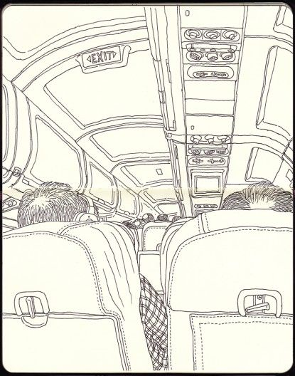 Airplane Drawing #1