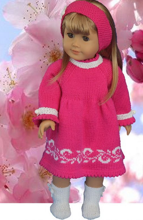 Knitting Patterns for Dolls Clothes | Knitting Dolls | Pinterest ...