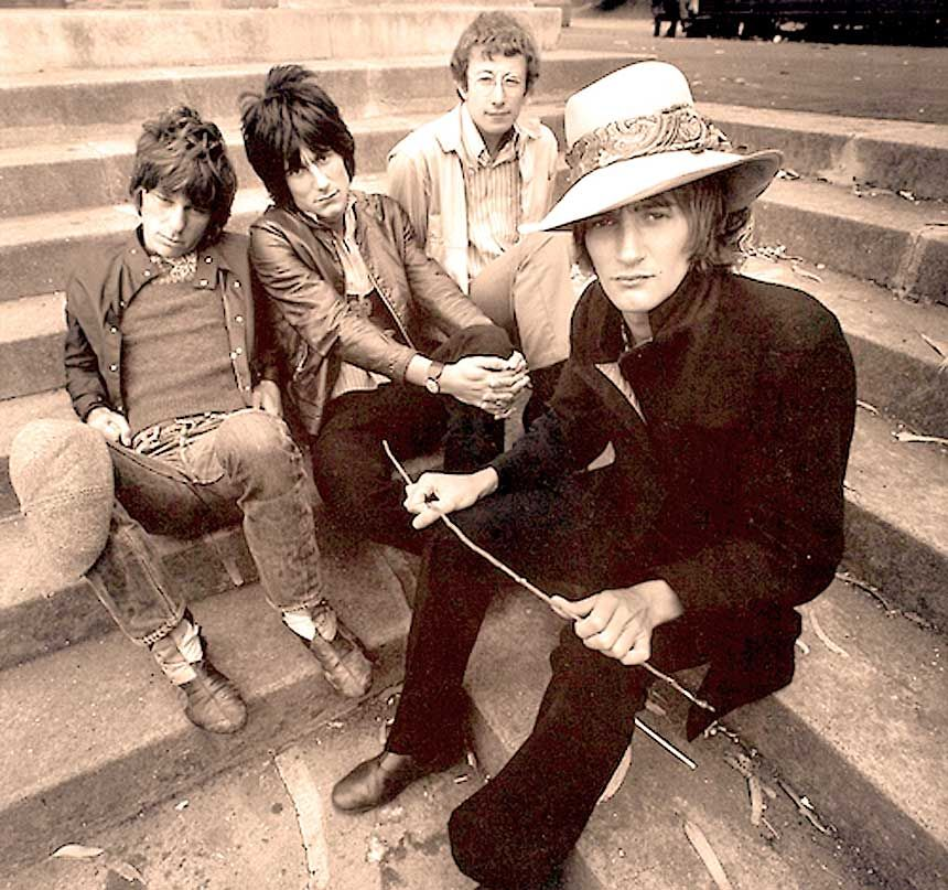 The Jeff Beck Group in 1968
