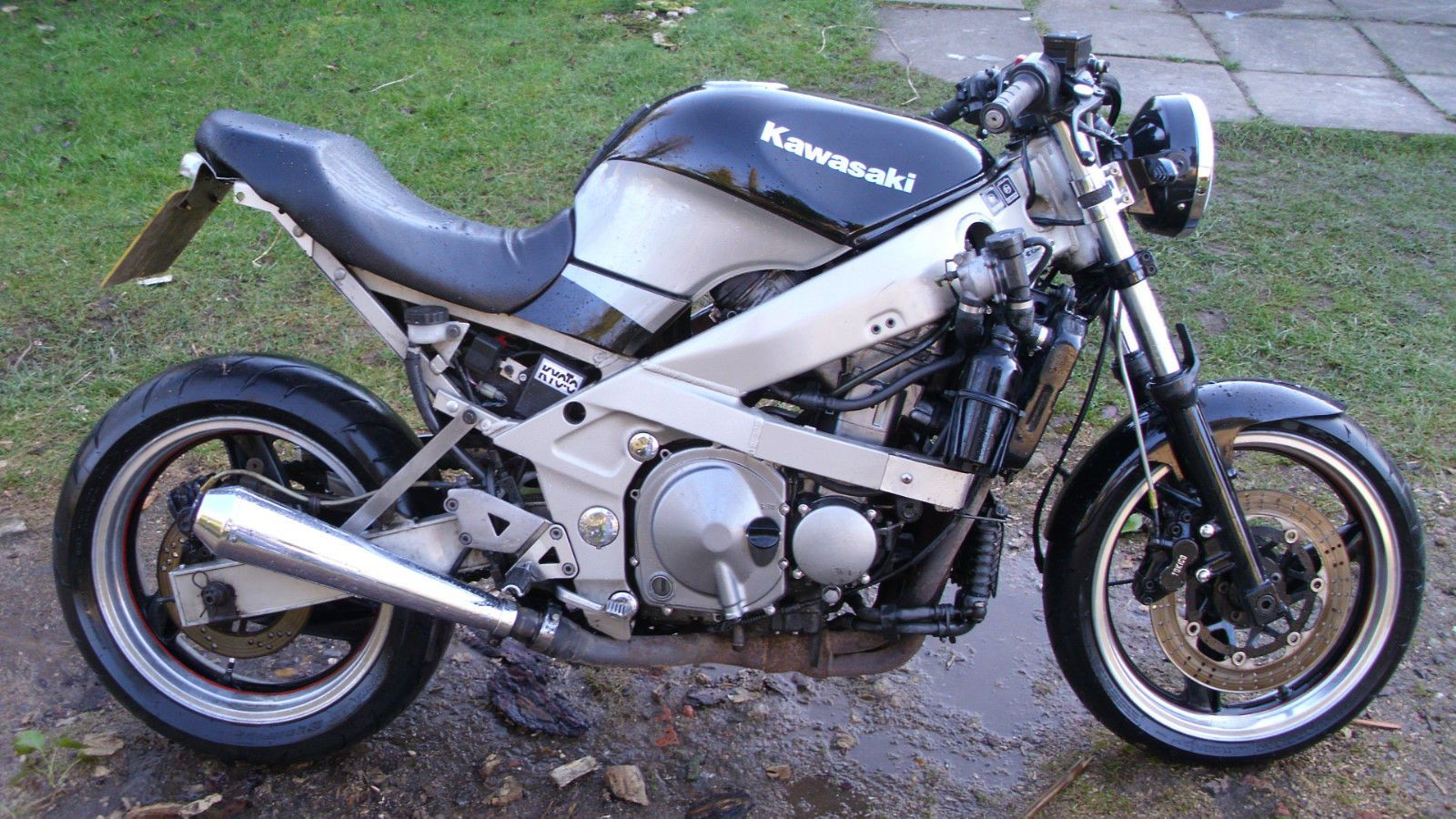 Kawasaki Zzr 600 Streetfighter Project
