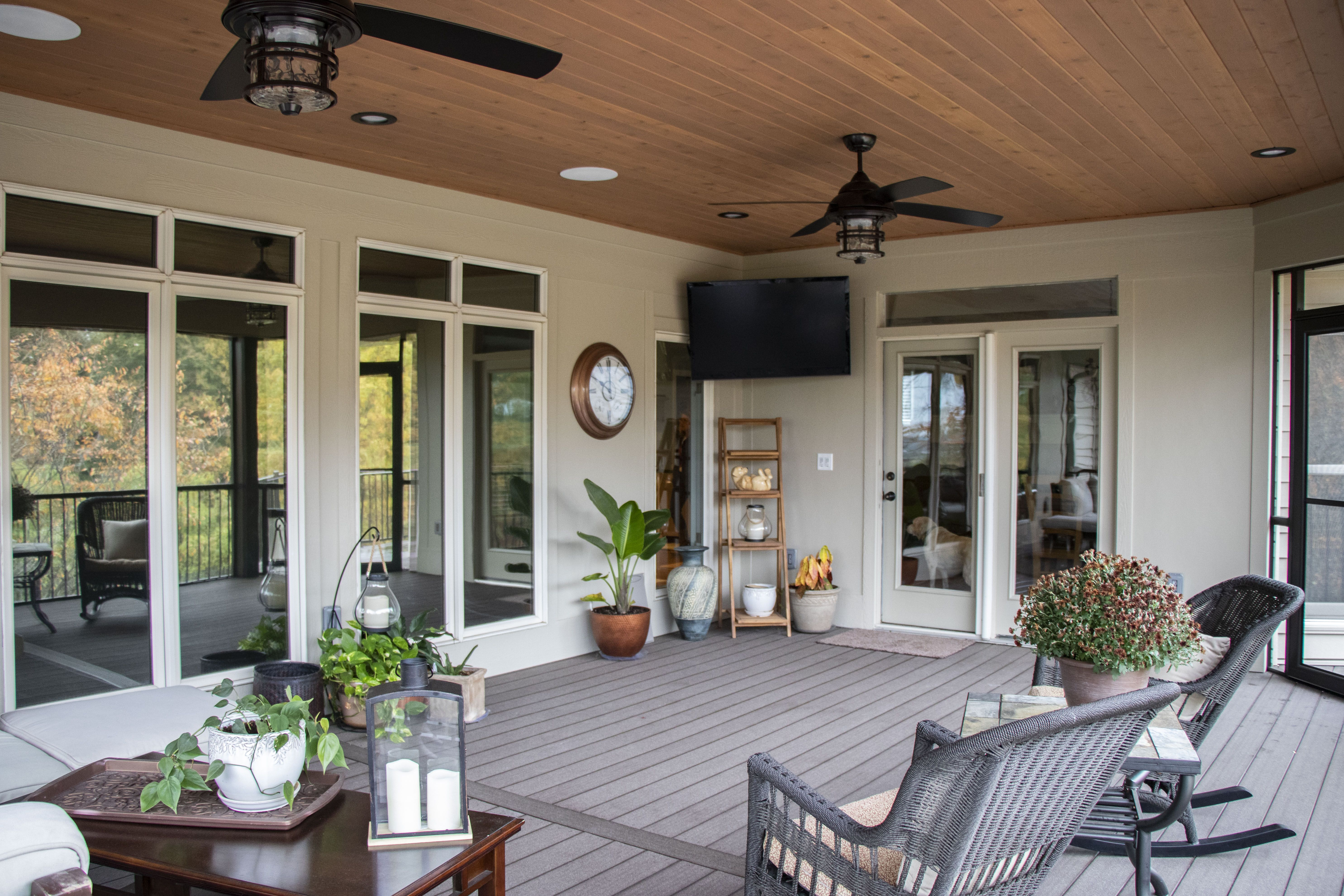 This spacious outdoor addition is perfect for enjoying ... on Outdoor Living Space Company id=83599