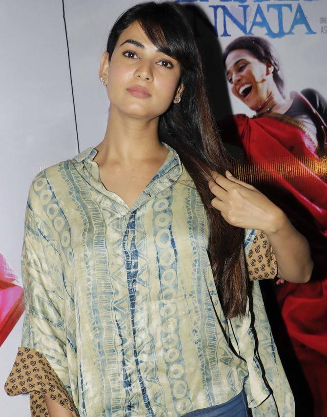 Sonal Chauhan at 'Nil Battey Sannata' screening. #Bollywood #Fashion #Style #Beauty #Hot