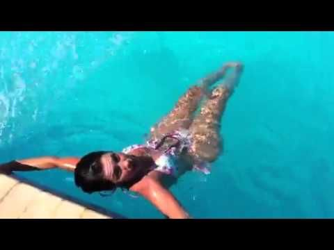 Easy Exercise At The Pool For Great Abs And Small Waist Fitness