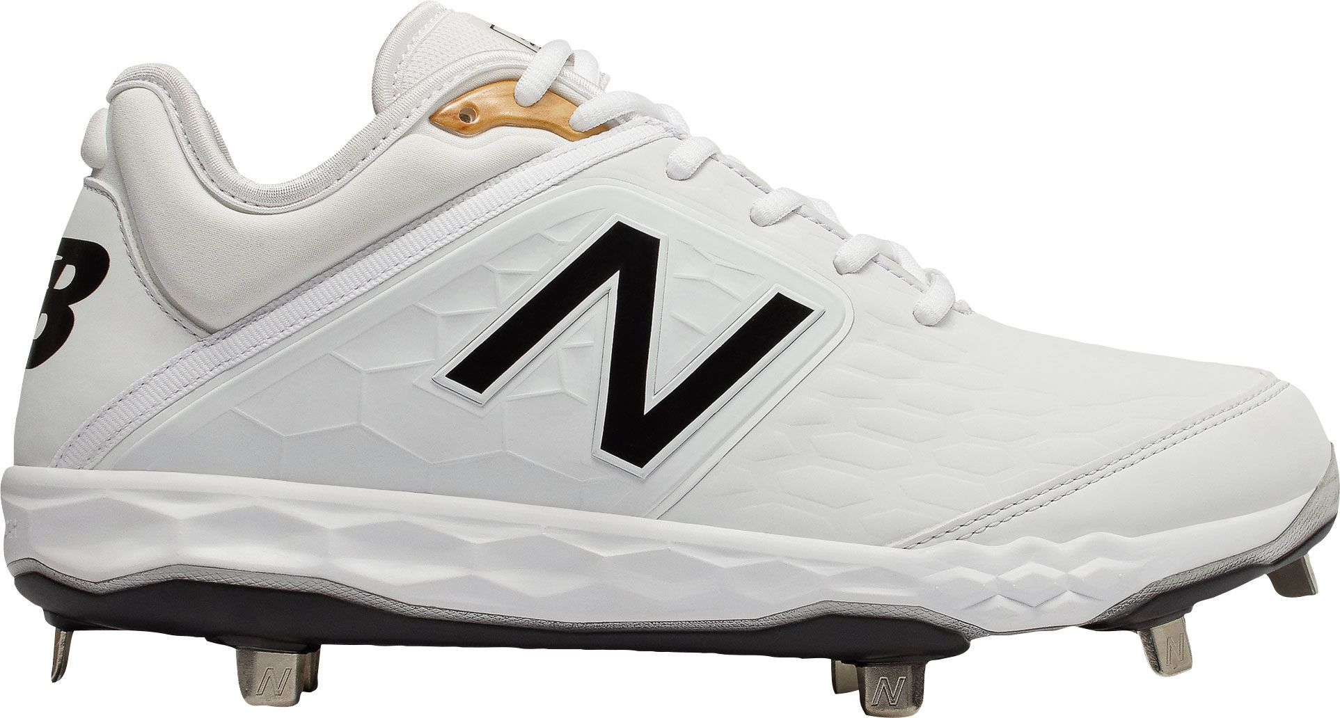 cef4f75f6d094 New Balance Men's 3000 V4 Metal Baseball Cleats, Size: 7.0, Red in ...