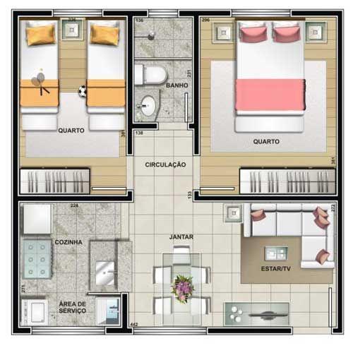 10 modelos de plantas de casas para 2017 smallest house - Modelos de rejas para casas ...