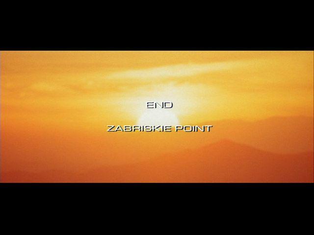 Zabriskie Point movie end title