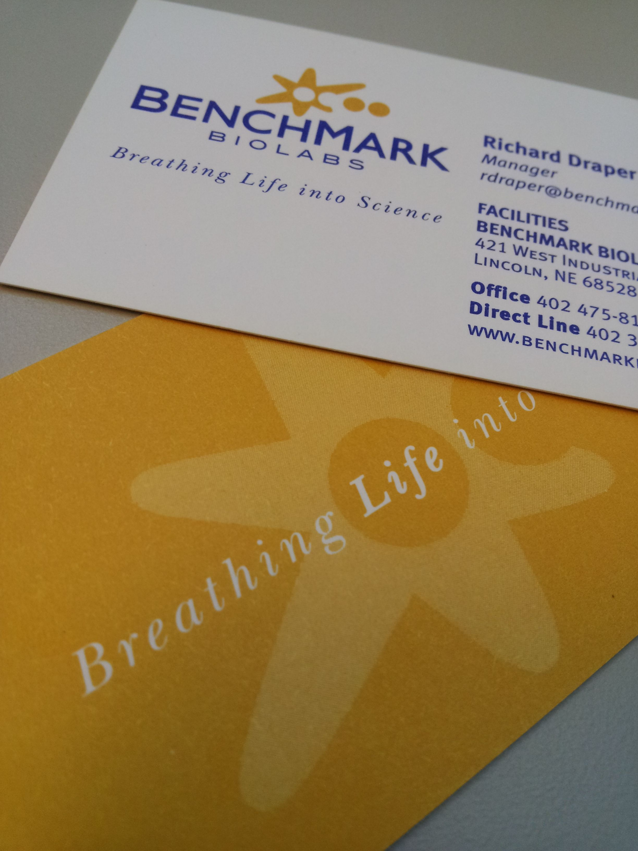 Benchmark biolabs business cards pinterest explore business cards and more benchmark biolabs business cards colourmoves