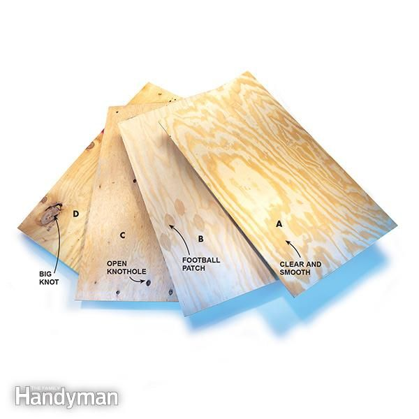 Understanding plywood grades and