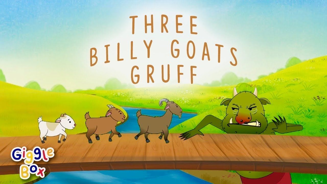 The Three Billy Goats Gruff | Fairy Tales | Gigglebox | Three ...