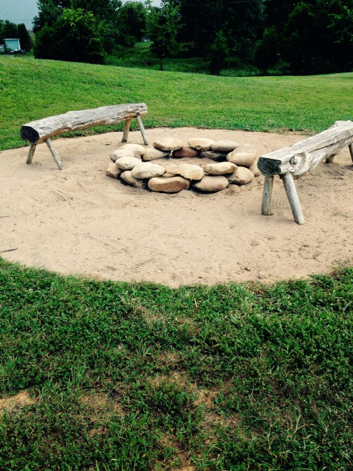 Round River Rock Fire Pit