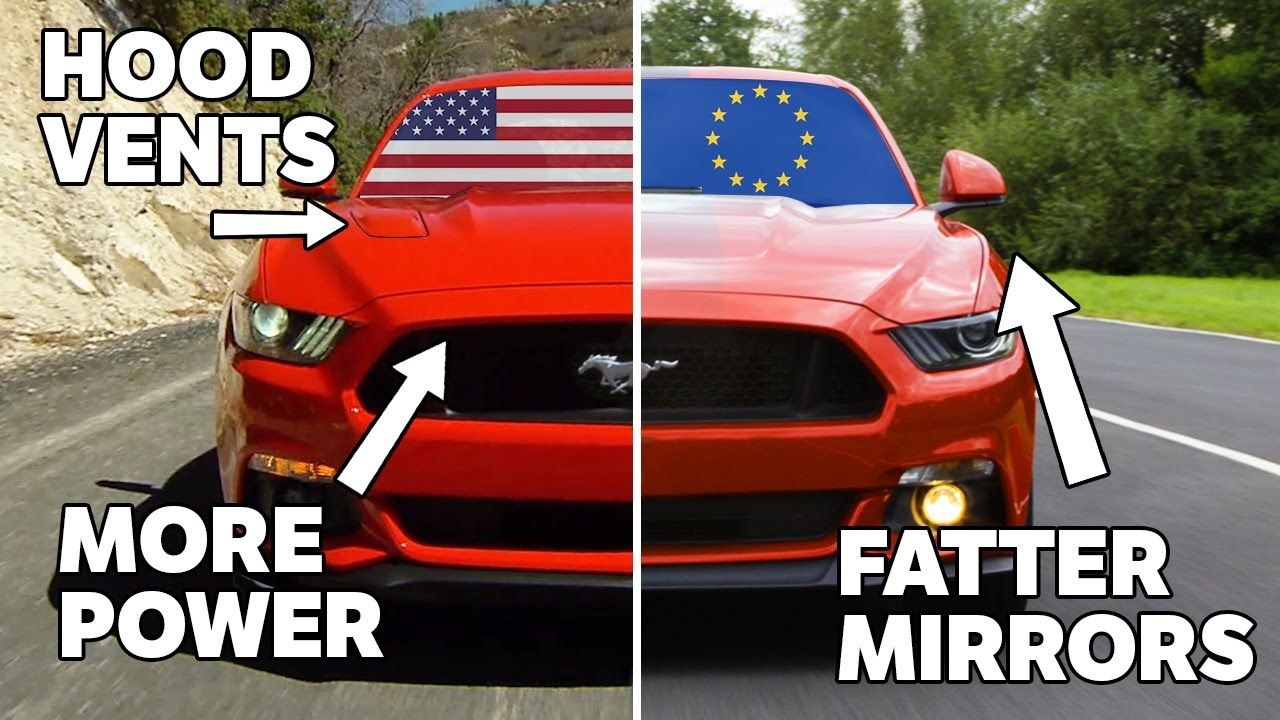 10 Differences Between Us And European Mustangs Mustang