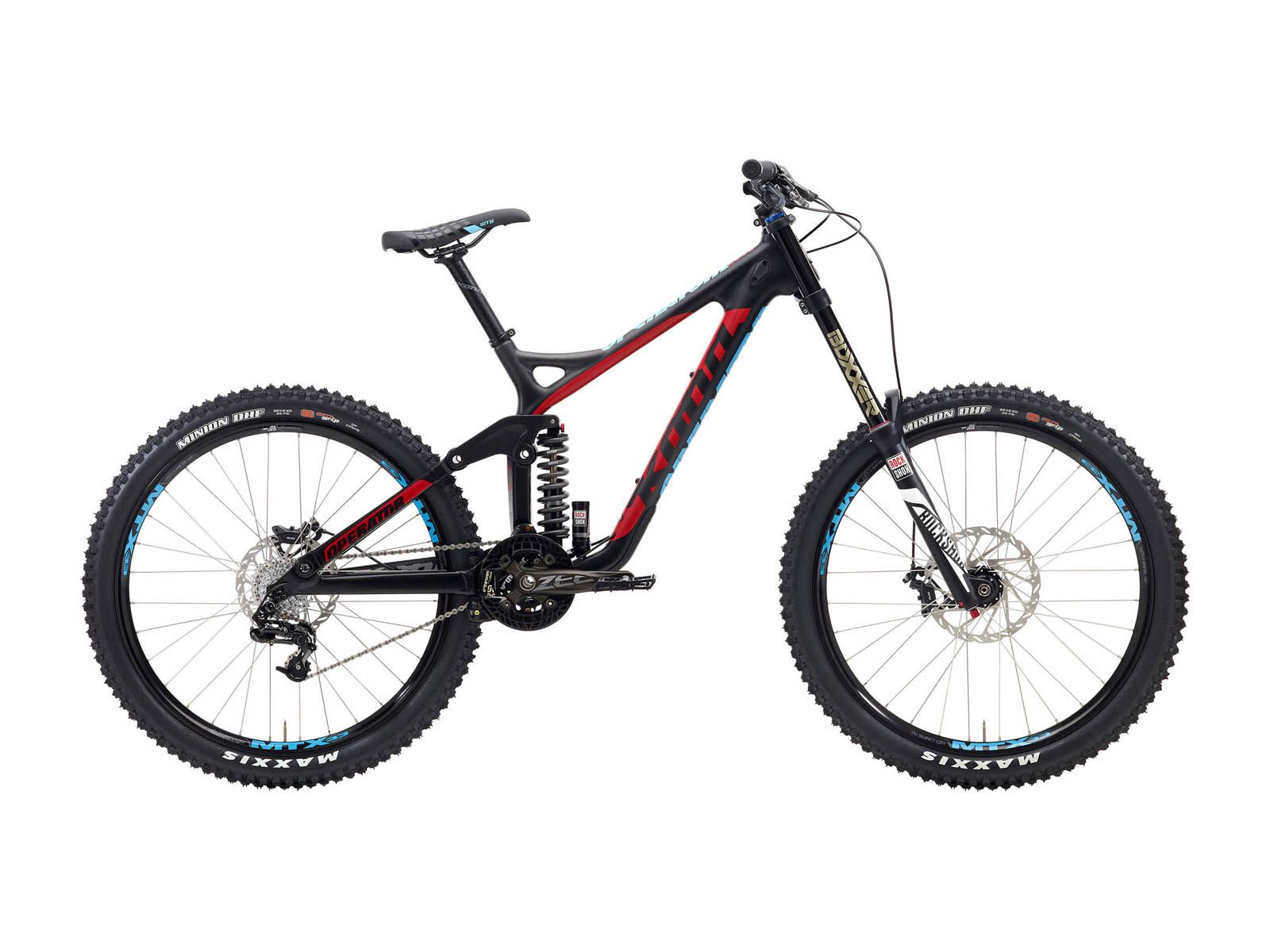Kona Operator 2015, matt carbon/red - Mountainbike | Kona operator ...