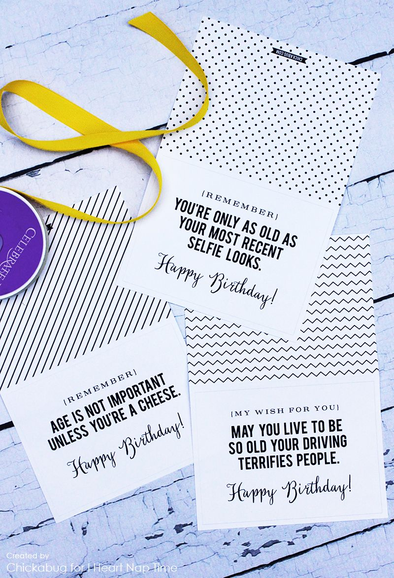 Printable birthday cards – Phrases for Birthday Cards