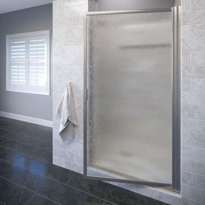 Basco Deluxe 305 X 635 Pivot Framed Single Swing Shower Door