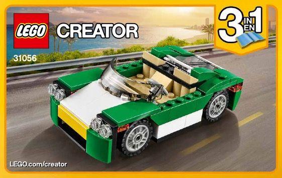 Creator Green Cruiser Lego 31056 Lego Creator Sets Lego Blocks Lego