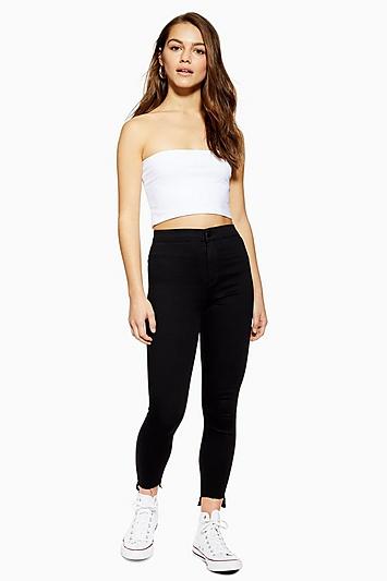 5bd2908d2e Womens Petite Black Let Hem Joni Jeans - Black in 2019 | Products ...