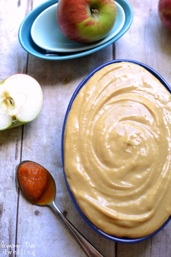 Pumpkin Caramel Apple Dip | Lemon Tree Dwelling