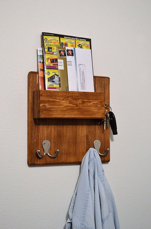 Entryway organizer Key hooksMail Organizer Key Rack