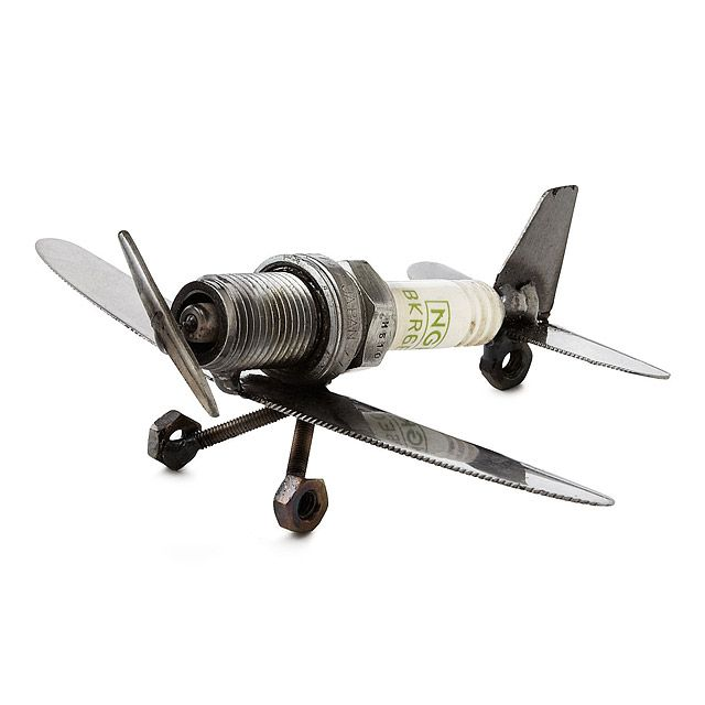 ddc79858ebb483f9c119cb30aa7588ac spark plug plane paperweight spark plug, daddy gifts and gift  at aneh.co