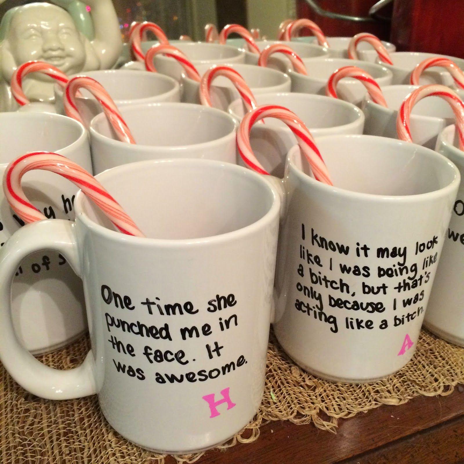 DIY Mean Girls Party Mugs