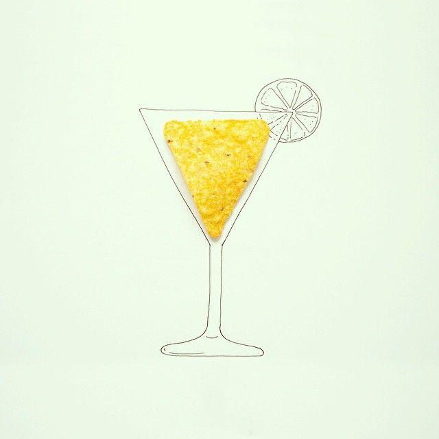 Dorito cocktail #doritos
