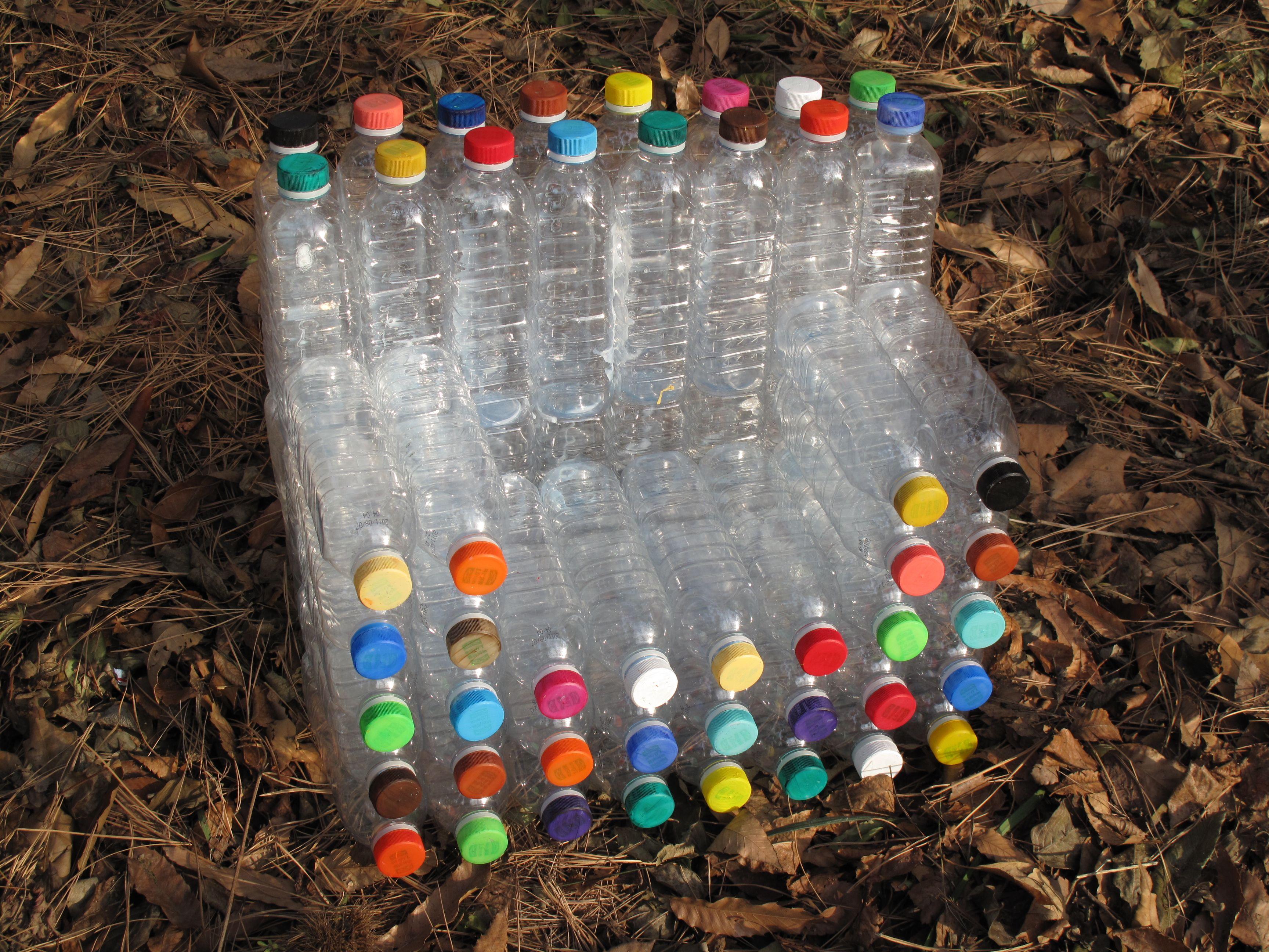 Plastic Bottle Recycling 56 Inspirations Of Art From Recycled Plastic Bottles Guru Koala