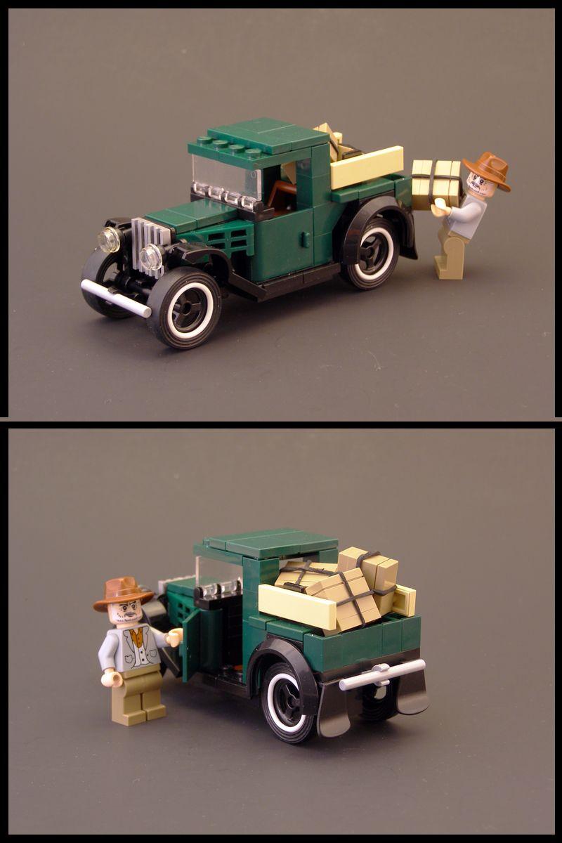 Car | Minifig-Scale | 1931 Ford Model A Pickup | by Legohaulic https://www.flickr.com/photos/legohaulic/4202111150