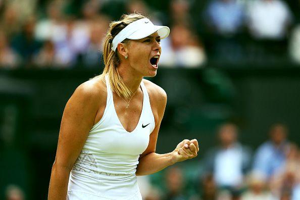 Maria Sharapova | Wimbledon 2015 QF↳ def. Coco Vandeweghe 6-3 6-7(3) 6-2